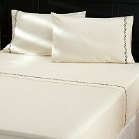 """Kingstone"" Embroidered 4pc Sheet Set"