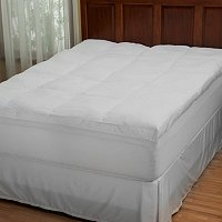 "North Shore Linens Spa Top 3"" Featherbed"
