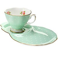 ROYAL ALBERT POLKA ROSE HOSTEST SET
