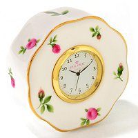 ROYAL ALBERT NEW COUNTRY ROSES WHITE CLOCK