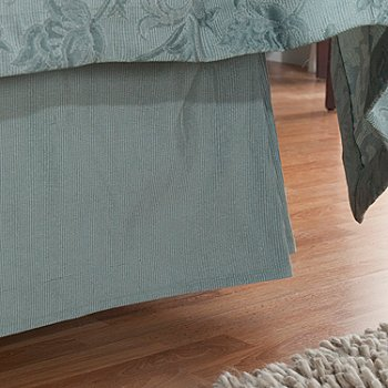 429-869 - Cozelle™ ''Limoges'' European Jacquard Bed Skirt