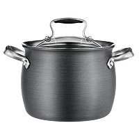 Macy's Belgique Hard Anodized 3 Quart Soup Pot
