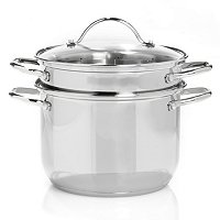 Macy's Basics Stainless Steel 8 Quart Multi Pot
