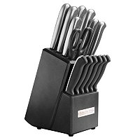 Macy's Tools of the Trade 15 Piece Stainless Steel Fine Edge Cutlery Set