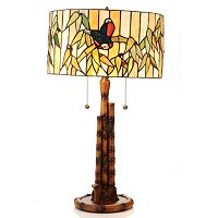 PERUVIAN BAMBOO TABLE LAMP