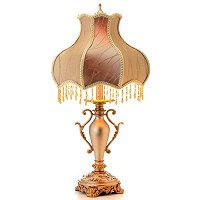 SIMPLY VICTORIAN BEADED TABLE LAMP