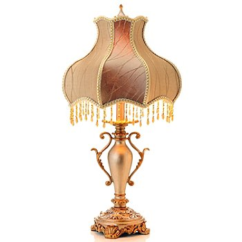430-317 - 27'' Simply Victorian Beaded Table Lamp