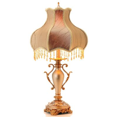 "430-317 - 27"" Simply Victorian Beaded Table Lamp"