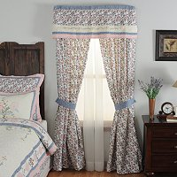 """Josie"" Valance and Drapery Panel Pair"