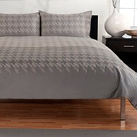 "Hotel Collection ""Houndstooth"" Three-Piece Duvet Set"