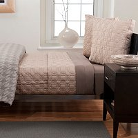 "Hotel Collection ""Houndstooth"" Three-Piece Coverlet Set"