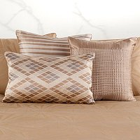 "Hotel Collection ""Radiance"" Three-Piece Decorative Pillow Set"