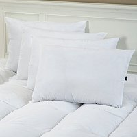 sensorPEDIC Four Pack of Memory Loft Pillows with Nano Tex Cover