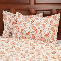 European Made Luxury Paisley Sham Pair