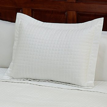 430-671 - 420TC Quilted Supima® Cotton Sham