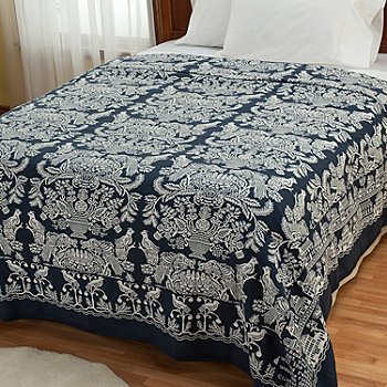 430-676 - ''Wilmington'' Yarn-Dyed Portuguese Coverlet