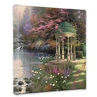 THOMAS KINKADE PRAYER COLLECTION 14X14 GALLERY WRAP