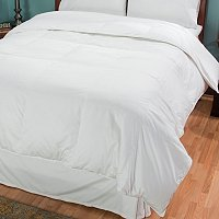 North Shore Linens Vancouver 400TC White Down Comforter