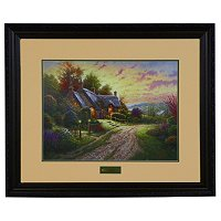 "Thomas Kinkade ""Peaceful Time"" Limited Edition Framed Print"