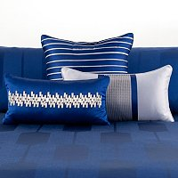 "Hotel Collection ""Links"" Three-Piece Decorative Pillow Set"