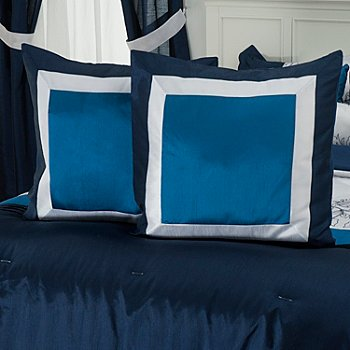 430-947 - North Shore Linens™ ''Printemps'' Microfiber Euro Sham Pair