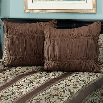 430-950 - North Shore Linens™ ''Murano'' Set of Two Euro Shams