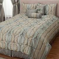"Cozelle ""Newcastle"" 7pc Jacquard Comforter Set"