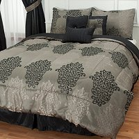 "Cozelle ""New Haven"" 7pc Jacquard Comforter Set"