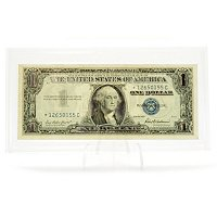 1957 HIGHLIGHTED IN REAL SILVER - CERTIFICATE IN HARD CASE HOLDER