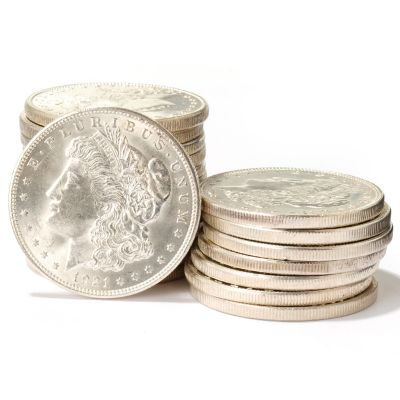 431-002 - 1878-1921 Morgan Dollar BU Set of 20 Coins