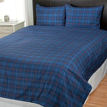 431-020 - Cozelle® ''Vaughn'' Microfiber Three-Piece Duvet Set