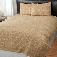 "Cozelle ""Damask"" 3pc Duvet Set"
