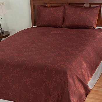 431-026 - Cozelle® ''Augusta'' Microfiber Three-Piece Duvet Set