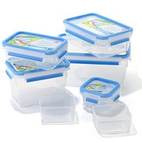 Emsa by Frieling Clip & Close Food Storage 6 Piece Container Set