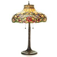 Charlotte Stained Glass Table Lamp