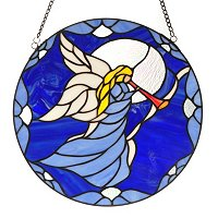 Angels Grace Stained Glass Panel