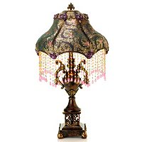 Pemelia's Beaded Table Lamp