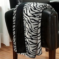 Charter Club Faux Fur Throw