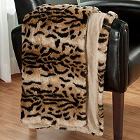 Charter Club Lux Faux Fur Throw