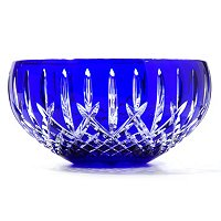 "WATERFORD CRYSTAL ARAGLIN PRESTIGE COBALT 7"" BOWL"