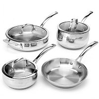 Macy's Belgique Stainless Steel 7 Piece Exclusive Cookware Set