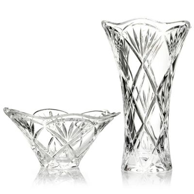 "431-147 - Marquis by Waterford® Honour 10"" Vase & 8-1/2"" Bowl"