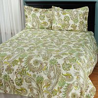 "North Shore Linens ""Melissa"" Cotton 3pc Duvet Set"