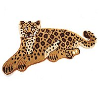 Style at Home 2.17x3.67 Wild Cat Wool Rug