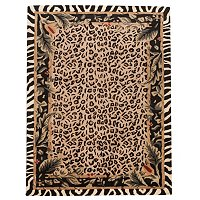 Style at Home 5x8 Jungle Kingdom Wool Rug
