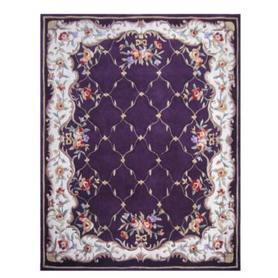 431-277 - Global Rug Gallery 5' x 8' or 8' x 10' Hand Tufted 100% Wool Rug