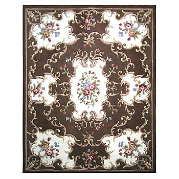 431-285 - Global Rug Gallery 5' x 8' or 8' x 10' Hand Tufted 100% Wool Rug