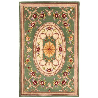 "431-288 - Global Rug Gallery ""Imperial Palace"" 5' x 8' or 8' x 10' Hand Tufted 100% Wool Rug"