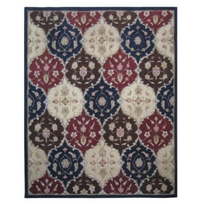 431-289 - Global Rug Gallery 5' x 8' or 8' x 10' Hand Tufted 100% Wool Rug