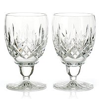 WATERFORD CRYSTAL ENNIS GOBLET PAIR